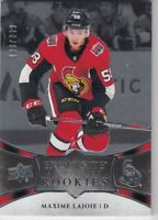 MAXIME LAJOIE NO:R1 EXQUISITE COLLECTION ROOKIE 280/299 UD EXQUISITE 2018-19  a