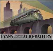 018 Auto Railers 1930'S Vintage Photo Print A4
