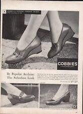 Vintage advertising print ad FASHION Shoes Red Cross COBBIES Rambler Tally-Ho 56