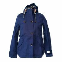 NEW Joules X_COAST Women's Waterproof Zippered Jacket in French Navy - 6