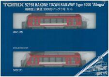 N scale Train Model Tra Hakone Tozan Railway 3000 Type Allegra Set 92198/ TOMIX