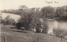 Carte Photo Rivière Rigaud à la hauteur de RIGAUD Quebec Canada 1904-18 RPPC