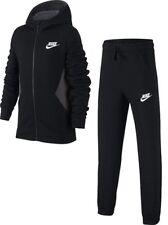 Nike Boys Fleece Sweatshirt Full Tracksuit Jogging Bottoms Hoodie Hooded Jacket