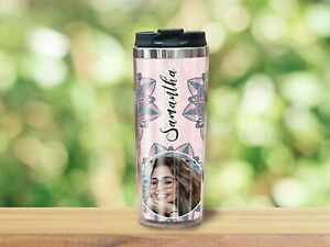 Personalised Photo Travel Mug   Gift For Her, Him, Family
