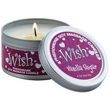 Pheromone Soy Massage Oil Scandal Candle Phermone For Women Vanilla Sugar Wish
