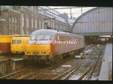 e169 - Dia slide 35mm original Eisenbahn Holland, NS PTT Mp Motorpost, '80s