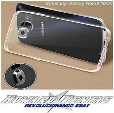 Funda Gel Carcasa Transparente Plastico Suave Para Samsung Galaxy Note 5 N9200