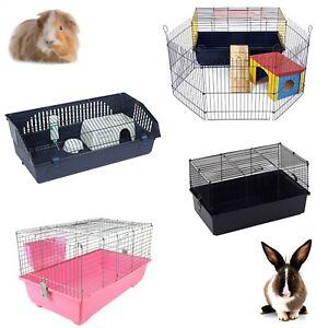Little Friends Rabbit Guinea Pig Pet Indoor Cage Bunny 60cm 80cm 100cm 120cm