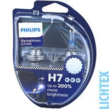 Philips RacingVision GT200 H7 12V 55W Halogen-Scheinwerferlampe - 2 Stück (12972RGTS2)