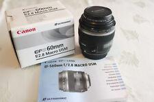 CANON EF-S 60mm f/2,8 Makro USM Objektiv