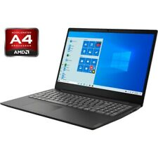 "Notebook Lenovo IdeaPad S145 15.6"" AMD A4-9125 Ram 4GB SSD 256GB Webcam Wind10"