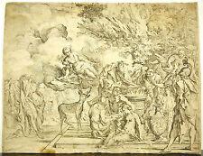 The sacrifice of Iphigenia c1640 by Pietro Testa Sanctuary of 'Artémis etching