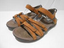 Teva Tirra waterproof leather women's walking sandals UK 4 EU 37 VGC