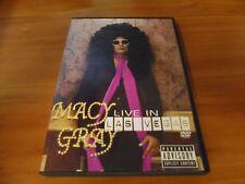 Macy Gray - Live in Las Vegas (DVD, 2005, Parental Advisory version) Used