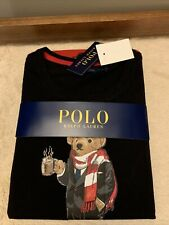 NWT - Polo Ralph Lauren Limited Edition Women's Hot Cocoa Bear Pajamas - Size M