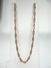 9K ROSE GOLD 50CM SINGAPORE CHAIN 5.91g