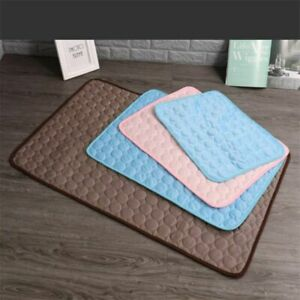 Self Cooling Mat Ice Pad Summer Keep Cool Bed Gel Mattress Cat Cushion Pet Dog