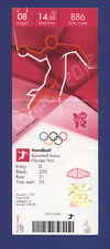 Orig.Ticket  Olympic Games LONDON 2012   HANDBALL  1/4 FINAL  SPAIN - FRANCE  !!