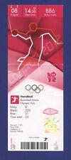 Orig.Ticket  Olympic Games LONDON 2012   HANDBALL  1/4 FINAL  SPAIN - FRANCE  !!