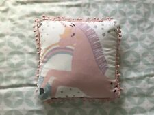 Unicorn Cushion - Reversible With Stars Design