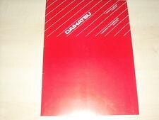 56522) Daihatsu Charade Cuore Feroza Genf Pressemappe 03/1992