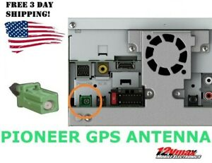 New GPS Navigation Antenna for Pioneer Radios Green Plug AVIC NEX AVH Models