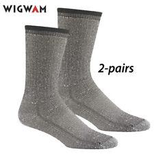 Wigwam Merino Comfort Hiker Socks (XL: 12-15) Charcoal 2-pr