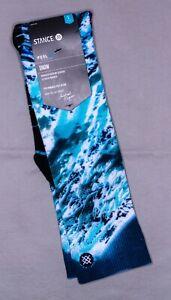Stance x Michael Kagan Snow Socks 'Blue Yonder Snow'   OTC   New With Tags