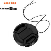 55mm Camera Lens Cap Cover Universal Front Snap on for Sony Nikon Canon