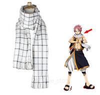 Anime Scarf Fairy Tail Role Natsu Dragneel Unisex Cosplay Neckerchief  Warm Gift
