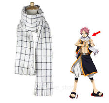 Anime Scarf Fairy Tail Role Natsu Dragneel Unisex Cosplay Neckerchief  Warm Hot