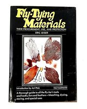Fly Tying Materials by Eric Leiser 2nd Print 1974 Introduction by Art Flick Hcdj