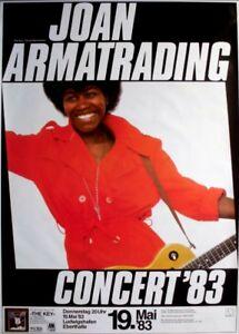 ARMATRADING, JOAN - 1983 - Konzertplakat - Concert - Tourposter - Ludwigshafen