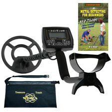 "Whites Coinmaster Metal Detector w/ 9"" Waterproof Search Coil, Apron and Book."