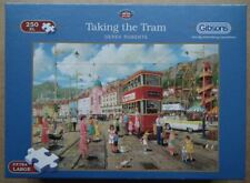 """""""Taking The Tram"""" Gibsons 250 piece Jigsaw - in Very Good, complete condition."""