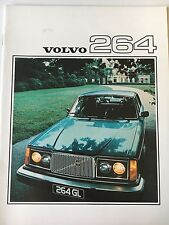 1976 Volvo 264 Sales Brochure Catalog