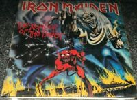 Iron Maiden - The Number Of The Beast -  First Pressing - LP Vinyl Record VG/VG