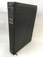 Holy Bible Holman Edition Leather Bound 1914 AJ Holman Philadelphia Family Bible
