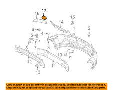 Fog Lamp Trim Bezel Chevrolet Aveo 09 10 11 12 GM OEM 96808147 BN15