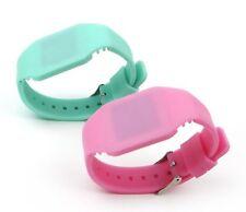 Girl Boy Children Kids Teen LED Digital Jelly Silicone Band LED Wrist Watch gift