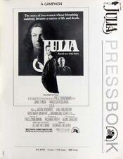 JULIA great movie PRESSBOOK 1977