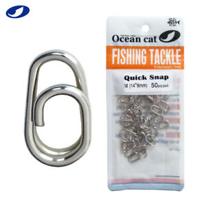 Fast Snaps Clip Stainless Steel Power Clips On Fishing Connector Easy&Quick