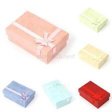 Wholesale 24Pcs Paper Package Bow Jewelry Necklace Bracelet Gift Box Case U59
