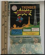 HORSE BRAND THUNDER BOMB FIREWORKS 3200 FIRECRACKERS 7-8 INCH 40-80 BRICK LABEL