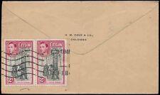 Machine Cancel Ceylon Stamps