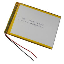 3.7V 4500 mAh Polymer rechargeable Li battery For GPS PDA ipod Tablet PC 3490120