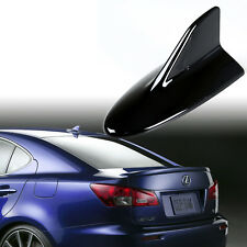 Universal Fit Shark Fin Dummy Antenna Lexus IS-F Style Painted Gloss Black