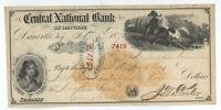 1870 RN-C9 Central National Bank of Danville KY 3 vignettes [y3618]