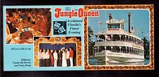 "USA VINTAGE UNUSED POSTCARD, WORLD FAMOUS ""JUNGLE QUEEN"" !!"
