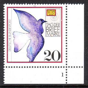 BRD 1988 Mi. Nr. 1388 Postfrisch Eckrand 4 Formnummer 1 TOP!!! (9971)